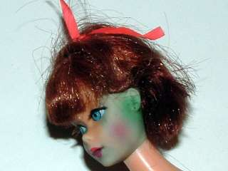 1960s TITIAN TNT BARBIE DOLL, CLOTHING ITEMS, FASHION BOOKLET