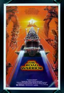 THE ROAD WARRIOR * MEL GIBSON MAD MAX ORIG MOVIE POSTER