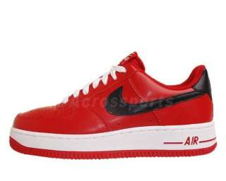 Nike Wmns Air Force 1 07 Gym Red Black White 2012 Womens Casual Shoes