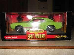 ERTL AMERICAN MUSCLE STREET MACHINES 69 CHEVY CAMARO
