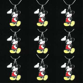 MOUSE NECKLACES BOYS GIRLS BIRTHDAY PARTY FAVOR GIFTS BIN