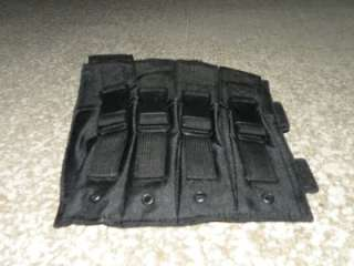 Drop Leg SMG Magazine Pouch, MP5, GSG 5, Black