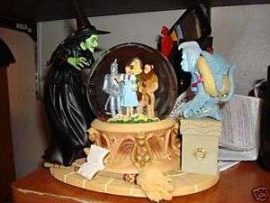 Wizard of Oz Wicked Witch Winged Monkey Snowglobe MIB