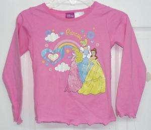 Disney Princess girls Top sizes; 2T, 3T, 4T, 5T NEW