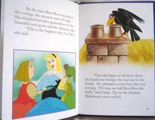 Disneys Sleeping Beauty Aurora and Prince Charming Hardback Story