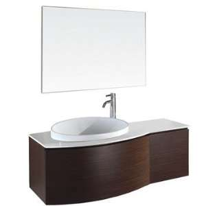 Bathroom Vanity on Bathroom Vanity On Athena 48 Inch Modern Bathroom Vanity Set By
