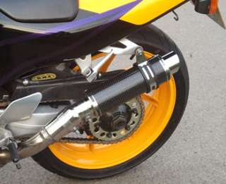 VFR 400 VFR400 NC21 NC30 CARBON MOTO GP STUBBY SP ENGINEERING EXHAUST