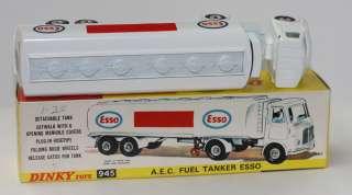 DINKY TOYS 945 AEC ESSO GAS TANKER TIGER IN TANK STICKER MIB
