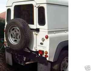 Land Rover Defender 90/110 Swingaway Wheel Carrier