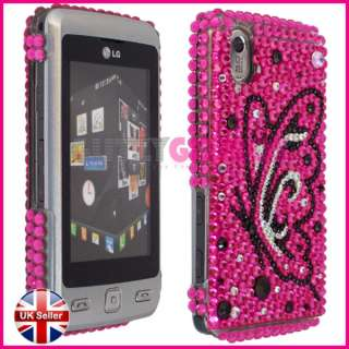 DIAMOND CRYSTAL DIAMANTE CASE COVER FOR LG KP500 COOKIE
