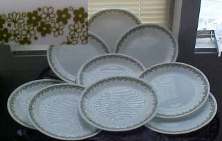 Corelle by Corning Spring Blossom 10 Dinner Plates chip