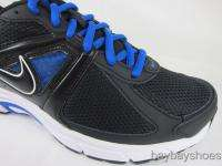 NIKE DART 9 BLACK/TREASURE ROYAL BLUE/WHITE RUNNING MENS ALL SIZES