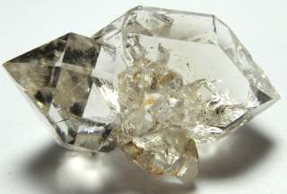 37 g 50x30x28mm Herkimer Diamond Quartz Crystal NATURAL CLUSTER Flat2