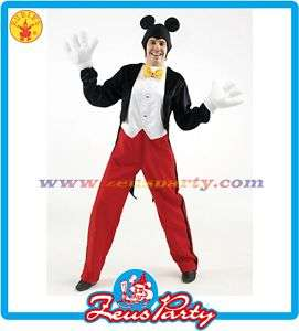 CARNEVALE costume MICKEY MOUSE disney TOPOLINO Tg. XL