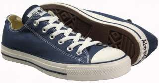 SCARPE CONVERSE ALL STAR STAR OX NAVY M9697 BLU n° 38