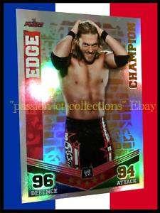Carte Slam Attax Mayhem 2010/11 EDGE WWE Champion