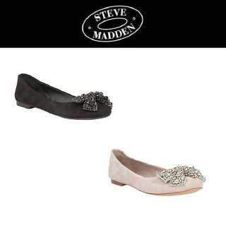 New Steve Madden KARISMA Ladies Black/Blush Suede Shoes Size 5.5 ~ 10