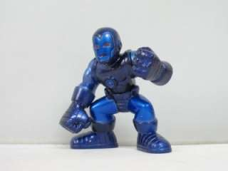 S26 MARVEL SUPER HERO SQUAD BLUE STEALTH ARMOR IRON MAN ACTION FIGURE