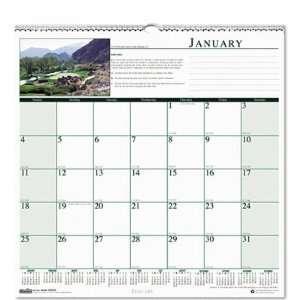 o House of Doolittle o   Golf Course Scenic Wall Calendar