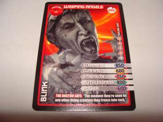 DR WHO MONSTER INVASION 2011 WEEPING ANGELS #056 ULTRA