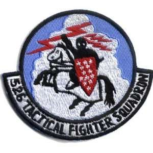 526th Tactical Fighter Squadron 3 Patch Office Products