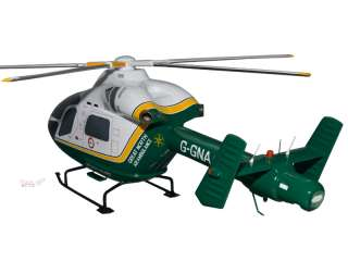 Agusta MD902 Great North Air Ambulance Helicopter Model