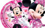 Pink Minnie Mouse Birthday Party Tableware ALL Items!