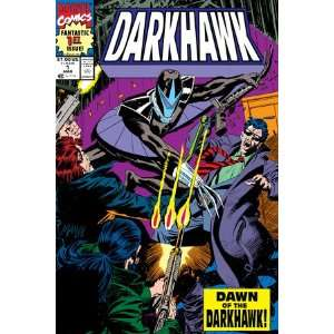 Cover: Darkhawk by Mike Manley, 48x72:  Home & Kitchen