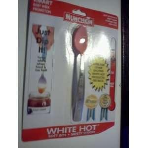 Munchkin White Hot Baby Spoon Pink Baby