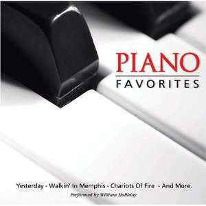 Piano Favorites performed by William Halliday Music
