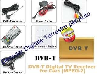 DECODER DIGITALE TERRESTRE DVB T PER AUTO