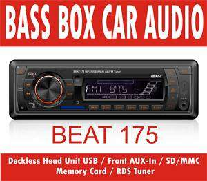 BEAT 175 Car Stereo RDS Radio USB SD Card MP3 Ipod
