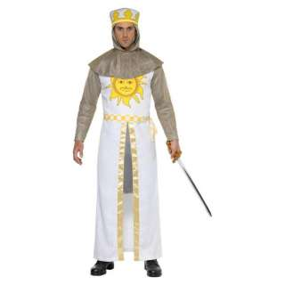 Python King Arthur Fancy Dress Medieval Knight Costume (Medium)