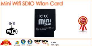 WiFi Wireless Mini SDIO SD Card For PDA SmartPhone 54Mb