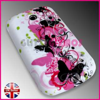 PINK BACK CASE COVER FOR SAMSUNG CHAT CH@T335 S3350