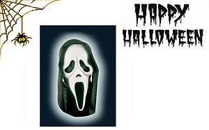 Halloween Maschera Scream Assassino