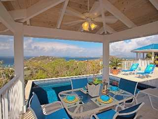 Chocolate Hole vacation villa rental: Blue Agave  Dazzling Sunsets