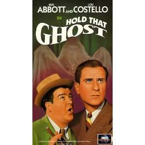 Abbott & Costello: Hold That Ghost [VHS]: Bud Abbott, Lou