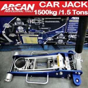 Low Profile Hydraulic Floor Trolley Jack Hand Lift 1.5 Ton 1500 kg