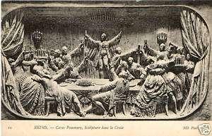 51 REIMS cave pommery sculpture dans la craie