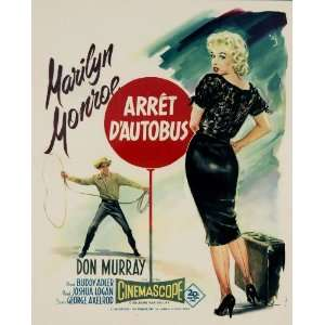 Very Good: Marilyn Monroe, Don Murray, Arthur OConnell: Collectibles