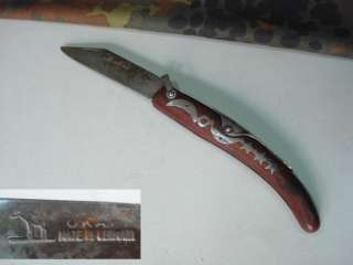 WWII ORIGINAL GERMAN WEHRMACHT FOLDING KNIFE   OKAPI