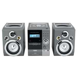 NEW*NAXA HOME STEREO MICRO SHELF SYSTEM WITH CD PLAYER