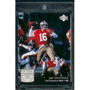 1997 Upper Deck Legends # 207 Joe Montana San Francisco 49ers Football