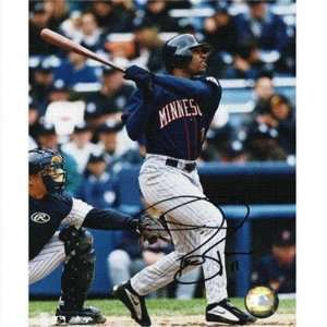 Jacque Jones Autographed Minnesota Twins 8x10 Photo
