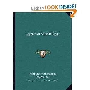 Egypt (9781162597188): Frank Henry Brooksbank, Evelyn Paul: Books