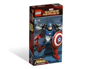Brand Korea Lego Marvel Super heroes 4597 The Avengers Sets   Captain