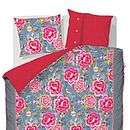 pip studio mumbai express blue duvet set by fifty one percent