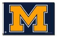 Michigan Wolverines Flags, Michigan Wolverines Flag, University of