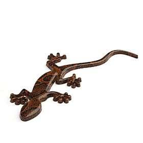 US$ 5.09   Car Chrome Emblem Badge Sticker   Brown Gecko, Free